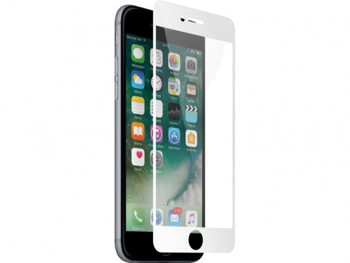 Novodio Total Cover 9H Glass Blanc Vitre protection 3D intégrale iPhone 7 Plus IP7NVO0015-04