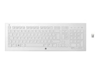 HP K5510 Keyboard wireless 2.4 GHz QWERTY for Envy; Pavilion Gaming; Pavilion Power; Pavilion x2; Slimline 411, 450; Spectre x360; x2 XP2182608N197-04