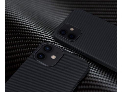 Novodio coque pour iPhone 12 mini en Kevlar et fibres de carbone Noir IPXNVO0187-04