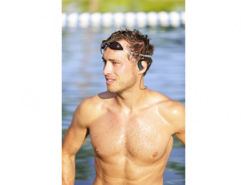 Novodio iH2O Blanc Écouteurs intra-auriculaires étanches Bluetooth MICNVO0021-05