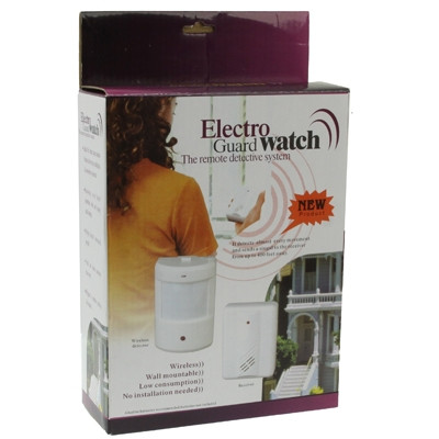 Electro Guard Watch Système de détection à distance IR / Sonnette sans fil (Blanc) SE0378-08