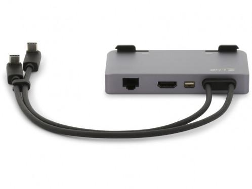 LMP USB-C Attach Dock ProStand 4K Gris Sidéral Dock USB-C 7 ports ADPLMP0027-04