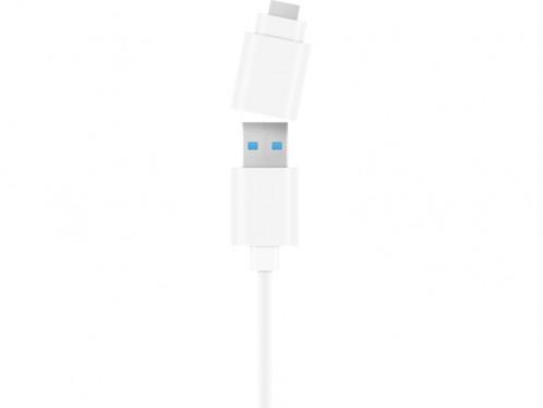 Novodio Hub 3 ports USB 3.0 + Gigabit Ethernet avec adaptateur USB-C HUBNVO0002-05
