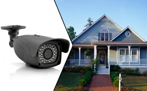 Flash Caméra de sécurité IP 720P, Capteur CMOS 1/3, Zoom 4x, 48LEDs IR FCSIPCC01-05