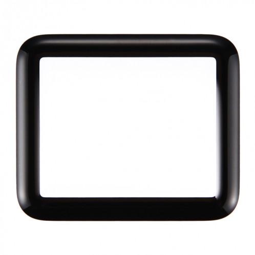 iPartsAcheter pour Apple Watch Série 1 38mm Front Screen Lentille extérieure en verre (Noir) SI124B540-05