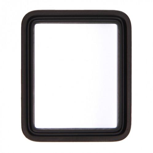 iPartsAcheter pour Apple Watch Série 1 42mm Front Screen Verre Extérieur (Noir) SI126B620-06