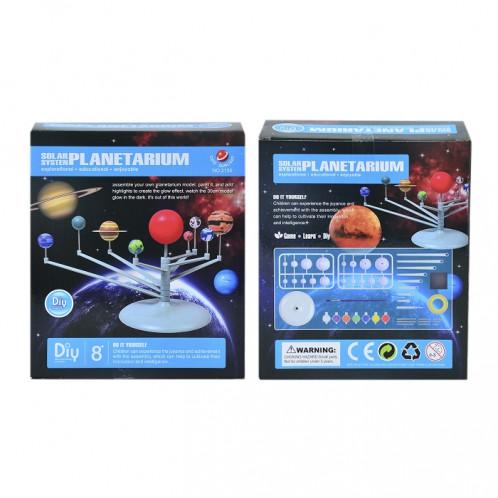 Modèle de bureau de bricolage décoration système solaire planétarium SH01131446-04