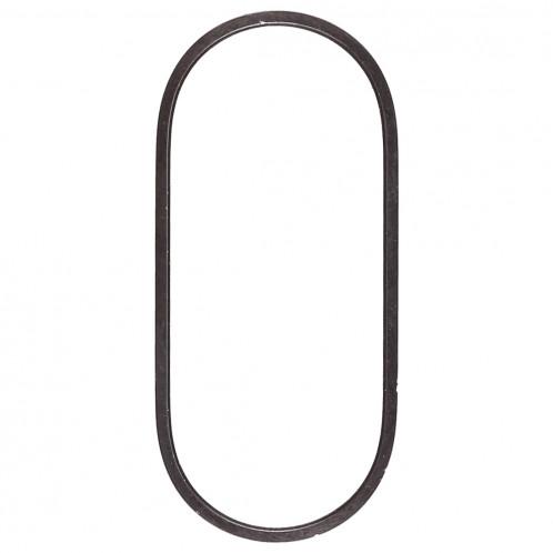 Anneau de protection en métal pour lentille en verre de caméra arrière pour iPhone XS et XS Max (Noir) SH312B920-04