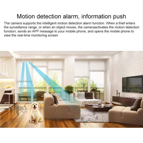 Caméra de surveillance intelligente HD 720P de réseau sans fil de caméra de surveillance sans fil d'artefact de V380 Wifi SH56851807-013