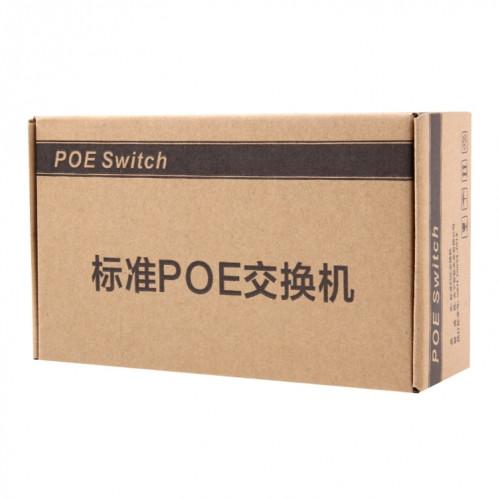 Commutateur POE 5 ports 10 / 100Mbps Commutateur réseau Power over Ethernet IEEE802.3af pour appareils IP de téléphone IP VoIP S500571143-08