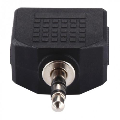 Adaptateur séparateur femelle 3,5 mm mâle à double 3,5 mm S313031526-06