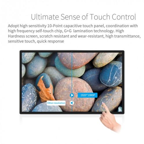 Cadre photo numérique à écran LCD de 32 pouces, RK3188 Quad Core Cortex A9 jusqu'à 1,6 GHz, Android 4.4, 1 Go + 8 Go, WiFi support et Ethernet & Bluetooth et carte SD et prise jack 3,5 mm SH10251527-010