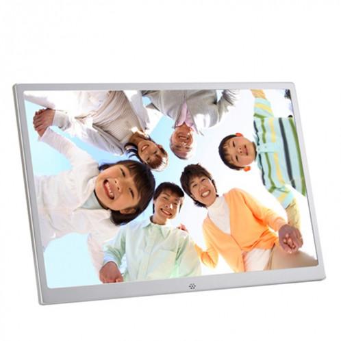 HSD1504 Cadre photo numérique haute résolution à affichage LED 1280x800 de 15,4 pouces avec support et télécommande, prise en charge des cartes SD / MMC / MS / port USB SH6516121-09