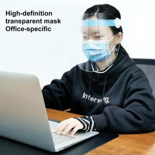 10 PCS Clear Protective Face Shield Anti-Saliva Splash Anti-Spitting Anti-Fog Anti-Oil Mask with Elastic Band SHT4911186-014
