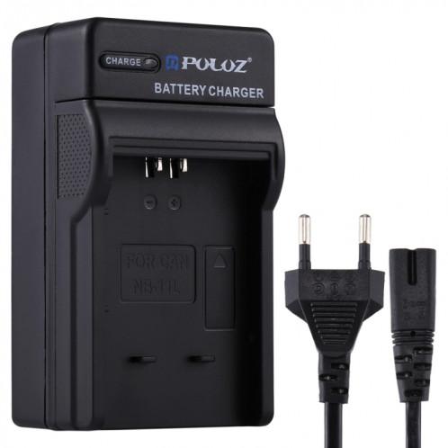 Chargeur de batterie PULUZ EU Plug avec câble pour batterie Canon NB-11L SP2227494-05