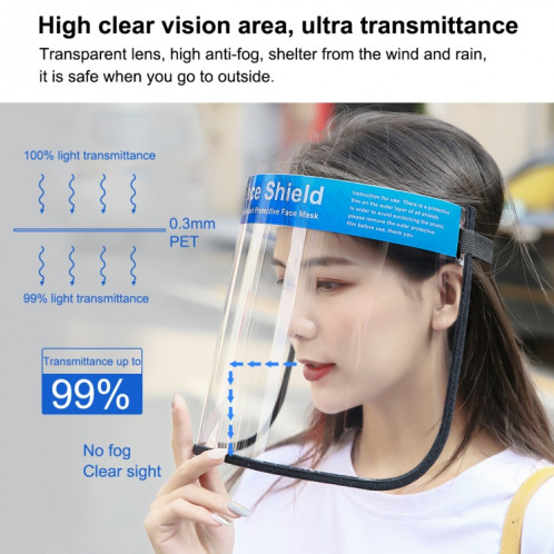 Face Shields Visière de protection anti-projection pour le visage SPU4691816-010