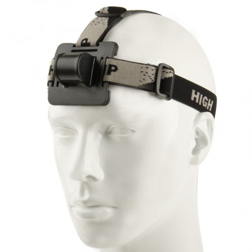 Montage de la sangle de tête rétractable pour lampe frontale, longueur de la sangle de tête: 45 cm (utilisation dans S-CA-8102) SH8107889-05