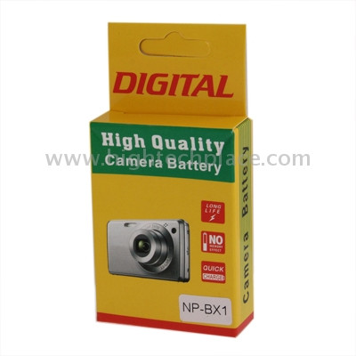 3.6V, 1350mAh Batterie NP-BX1 pour appareil photo numérique Sony S303398-05