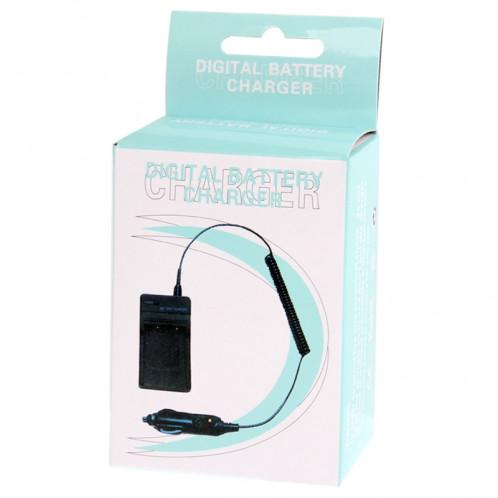 Chargeur de voiture pour appareil photo numérique pour Canon NP-7L (noir) SH00141550-06
