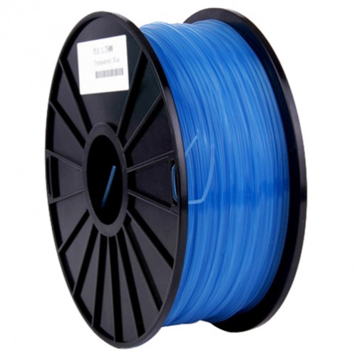 Imprimantes 3D transparentes PLA 3.0 mm, environ 115m (bleu) SH031L1020-06