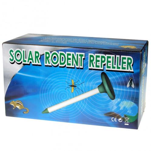 RC-501 Répulsif ultrasonique à rongeur / souris / taupe + moustique / abeille / serpent panneaux solaire SR25921479-09