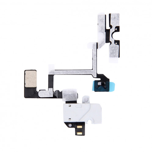 iPartsBuy Original Câble Audio Jack Câble Flex Flex pour iPhone 4 (Blanc) SI701W1396-04