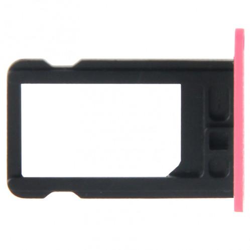 Titulaire de plateau de carte SIM pour iPhone 5C (rose) ST325F471-03
