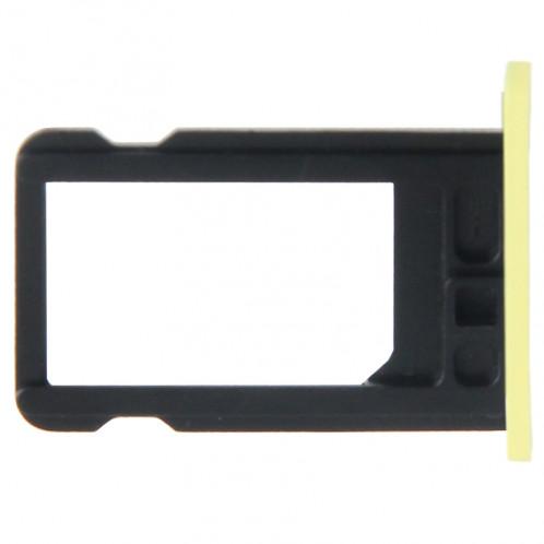 Titulaire de plateau de carte SIM pour iPhone 5C (jaune) ST325Y465-03