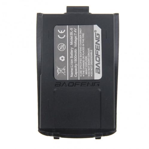 BL-5 7.4V 1800mAh Walkie Talkie Batterie pour BAOFENG A52 (S-KT-2640B) (Noir) SB641B440-05