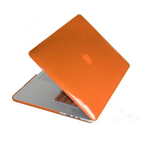 Crystal Hard Case de protection pour Macbook Pro Retina 13,3 pouces A1425 (Orange) SH12RG1609-08