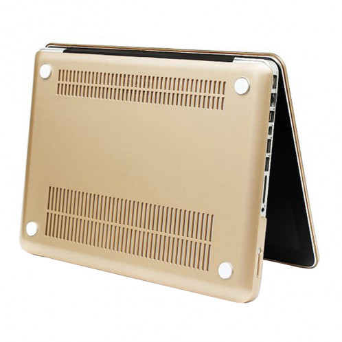 Boîtier de protection en plastique dur givré pour Macbook Pro 13,3 pouces (or) SH14GD1494-07