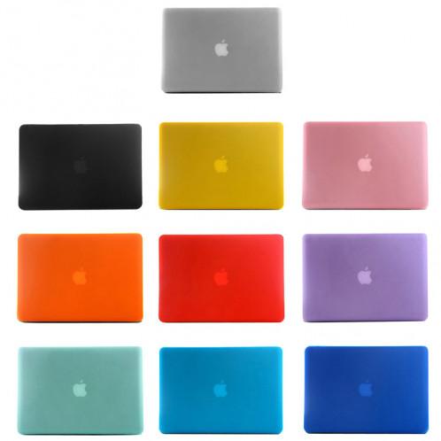 Étui de protection dur givré pour Macbook Pro 15,4 pouces (A1286) (Bleu) SH19BE1518-06