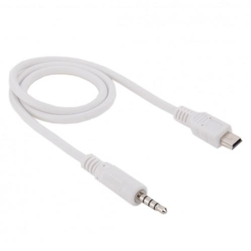 Câble audio mâle mâle vers mini USB mâle de 3,5 mm, longueur: environ 50 cm S37308192-03