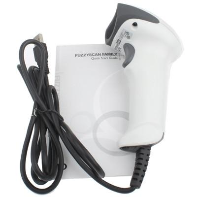 Lecteur de code à barres EAN UPC de laser de laser d'USB (Cino F680), gris SL38091765-06