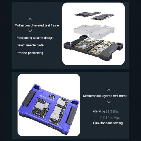 Appareil de test de fonction de la carte principale MiJing C18 pour iPhone 11/11 Pro / 11 Pro Max SM013621-09