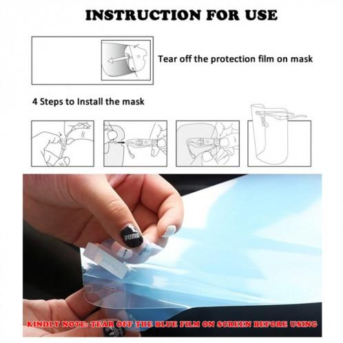 Masque transparent anti-éclaboussures anti-salive (Transparent) SH501D731-07