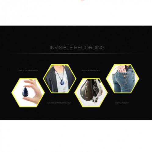 Enregistreur vocal professionnel de style pendentif portable UR-28, 16 Go, support WAV SH444C1994-010