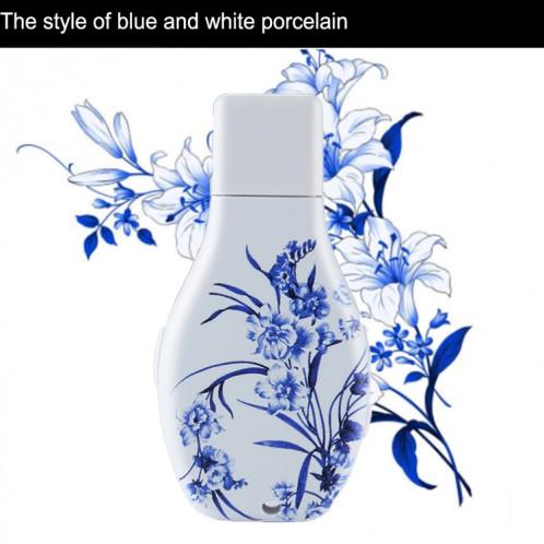 Enregistreur vocal audio portable avec motif en porcelaine Flowers Blue et White, 16 Go, Lecture de musique avec support SH44631815-010
