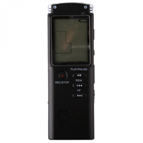 Enregistreur vocal audio portable VM113, 8 Go, lecture de musique de soutien / LINE-IN et enregistrement téléphonique SH19061436-010