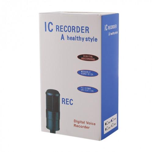 Enregistreur vocal audio portable VM181, 8 Go, lecture de musique de soutien / carte TF / LINE-IN et enregistrement téléphonique SH190740-09