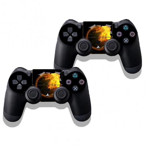 Autocollant de peau de protection en peau de protection en peau de protection 3D pour console de jeu PS4 SA340F-03
