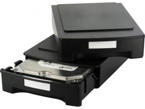 """Storeva HDD Box Boîtier de rangement antistatique pour disque dur 3,5"""" BOISRV0021-03"""