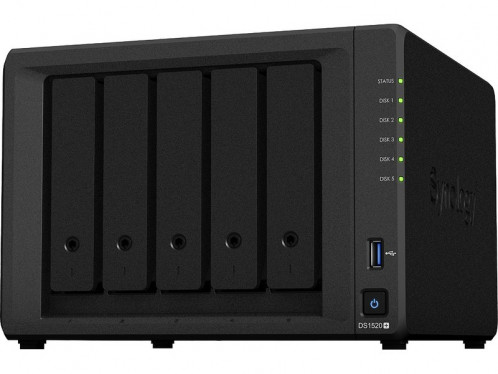 Synology DiskStation DS1520+ Serveur NAS 70 To (disques serveurs) NASSYN0592N-04