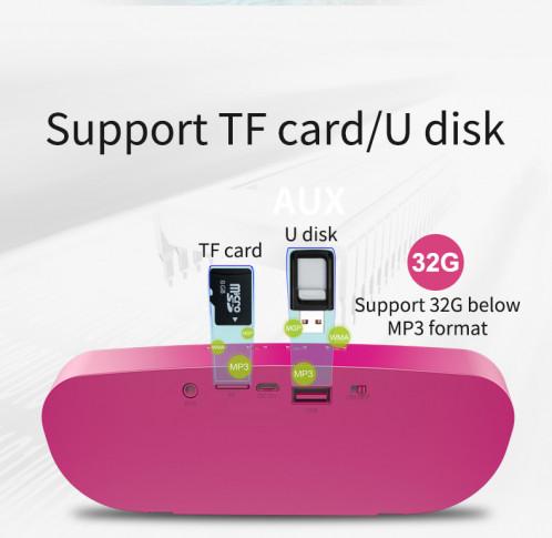 ZEALOT S9 Haut-parleur stéréo 3D portable Bluetooth Mini haut-parleur sans fil Bass Music Center Noir C5925854-014