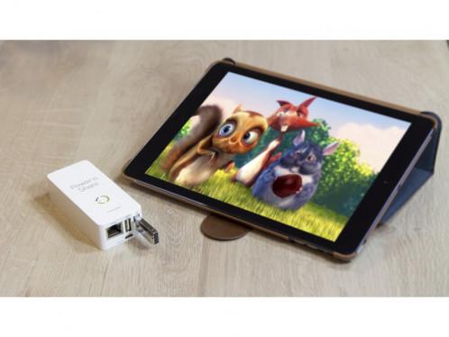 Novodio Power'n Share Boîtier de partage multimédia et batterie externe ACSNVO0043-05