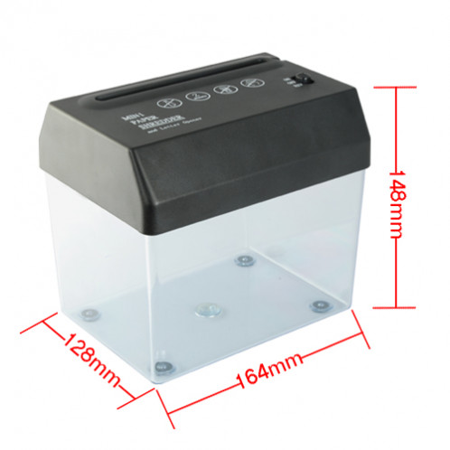 Mini destructeur de papier USB et ouvreuse de lettre DDPUS01-05