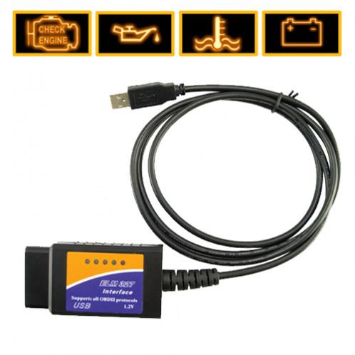 Outils de diagnostic auto ELM 327 USB vers VAG-COM ODAUTOELM327USB01-03