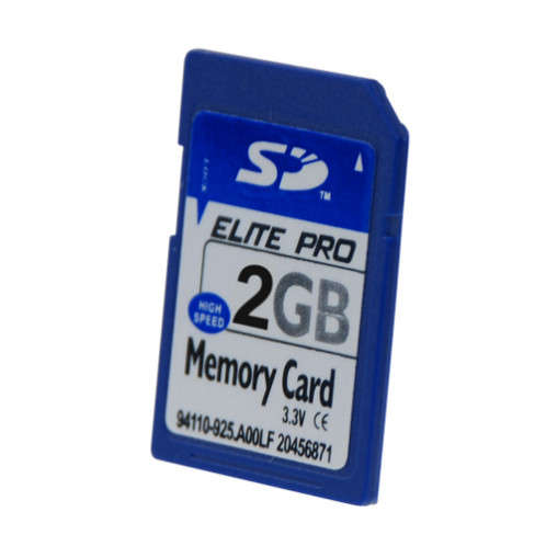 Carte SD 2GB CSD2GB01-01