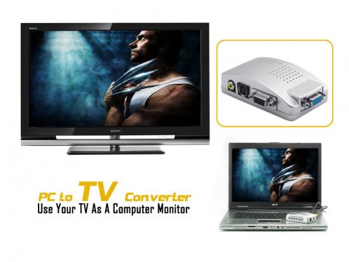 Convertisseur PC vers TV Utiliser votre téléviseur comme un moniteur d'ordinateur CPCTVUTMO01-04