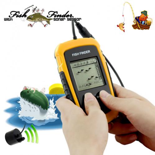 Localisateur / Détecteur de poisson avec Sonar LDPAS01-06